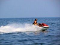 Randonnee jet ski sur le littoral sud des landes