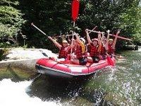 Rafting dans la riviere de la Nive