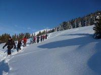 A le decouverte de la montagne avec Evolution 2 Raquettes a Neige