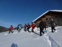 La Vallee de Chamonix en Raquettes