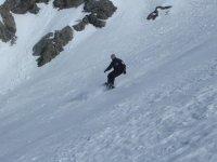 Initiation hors piste en snowboard avec Elpro