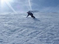 snowboard sous le soleil