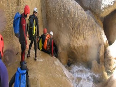 Evolution 2 Avoriaz Canyoning