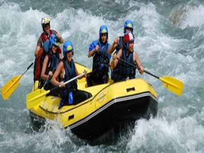 Evolution 2 Avoriaz Rafting