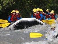Rafting a Avoriaz en ete