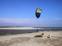 Cours debutant kitesurf dans le 64