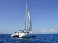 Manoeuvrer un catamaran