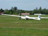 Planeur a l Aero Club de Moulins