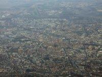 Clermont Ferrand vue du ciel