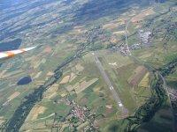 Planeur a partir de l aerodrome du Puy Loudes