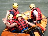 Rafting entre copains avec Randovive