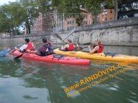 Lyon en kayak avec Randovive