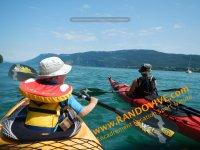Kayak Lac Bourget avec Randovive