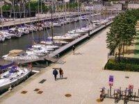 Le port de vannes en Segway