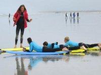 Cours de surf tout niveau proche de Quimper