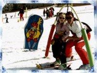 Ski enfant Le Sauze