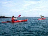 Kayak proche de St Pol de Leon