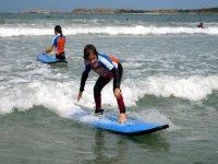 Ecole de surf itinerante dans le Finistere