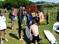 Point de rendez vous surf au Dossen