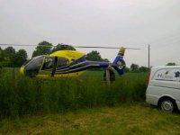 Bapteme helicoptere sur Amiens
