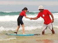 Accompagnement surf dans les Landes