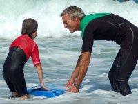 Cours de surf enfant proche de Seignosse