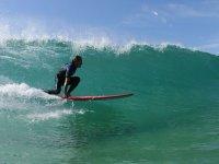 Entrainement de surf proche de Capbreton