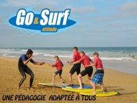 cours de surf Labenne