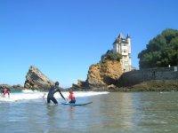 Ecole de surf a Biarritz