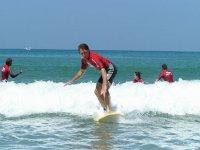 Spot de surf sur Biarritz