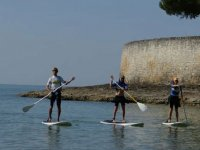 Paddle surf a Royan