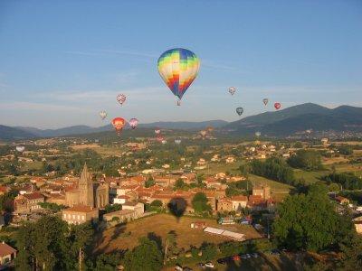 Vol Privilège Montgolfiere Annonay - 4 Pers
