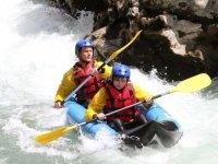 Canoe raft dans le Verdon