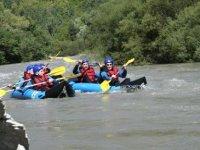 Canoe raft entre amis