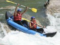 Descente en canoe raft