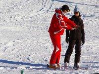 Premier cours de ski