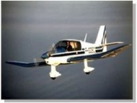 Avion en plein vol