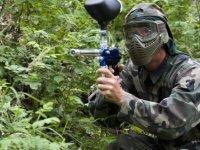 paintball sur le terrain Jungle