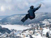 Ecole de snowboard dans les vosges