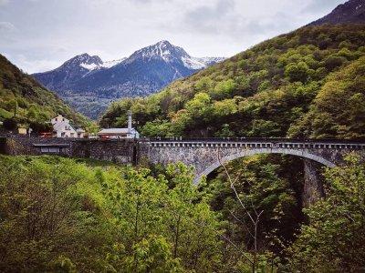Elastic Crocodil Bungee Pyrénées - Pont Napoléon