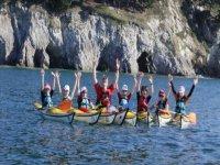 Decouverte du kayak de mer dans le 29