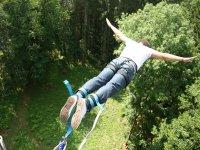 Saut a l elastique avec Adrenaline Elastique
