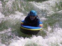 hydrospeed et surf sur les vagues