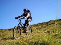 Randonnee free ride Vtt Avoriaz