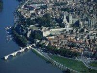 Avignon vue du ciel