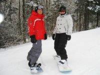 Snowboard en Ecole de ski