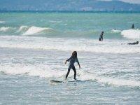 Decouverte du surf dans le 64