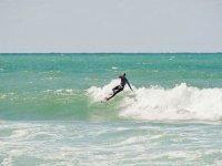 Rencontre amicale entre clubs de surf