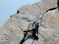 Escalade en haute montagne