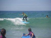 Ecole de surf dans les Landes
